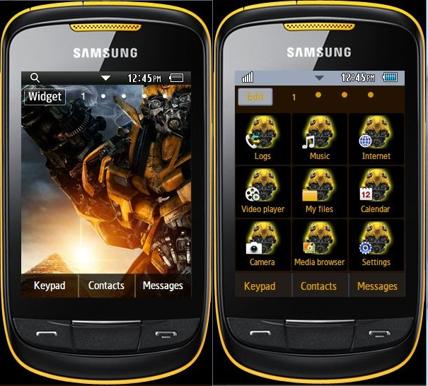 theme samsung corby s3850